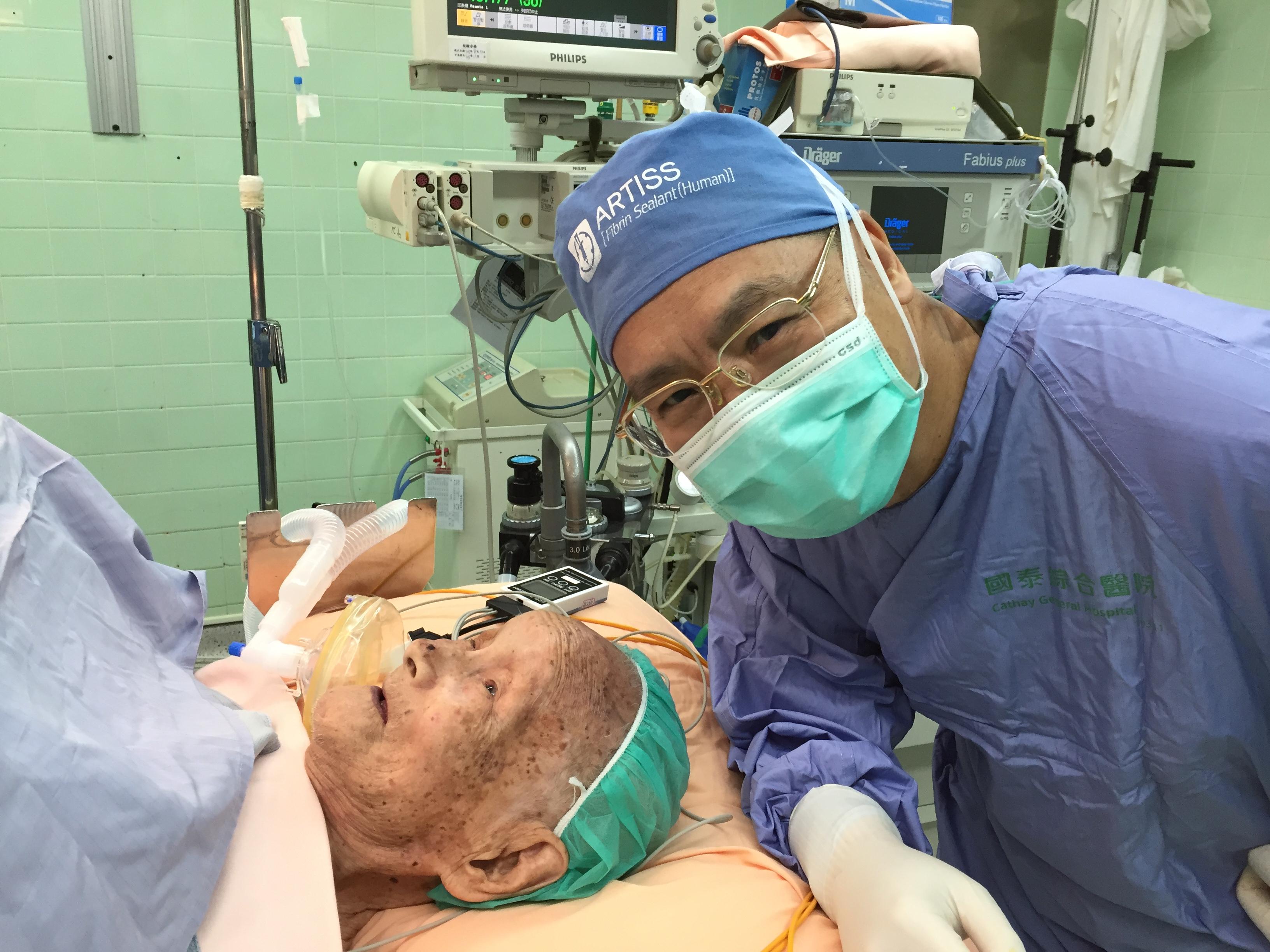 108歲疝氣手術